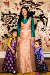 The Sakyong Wangmo with Jetsun Drukmo and Jetsun Yudra