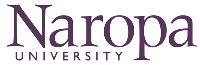The letterhead of naropa university