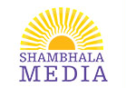 Shambhala Media Logo - the great easten sun on top of shambhala media