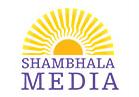 Shambhala Media Logo - the great easten sun on top of shambhala media