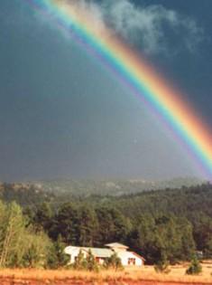 Rainbow Over Shambhala Mountain Center