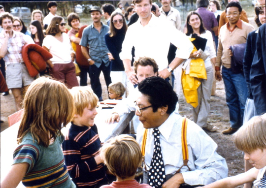 Founder of the Shambhala Lineage, Chogyam Trungpa Rinpoche Meeting with the Future of the Lineage